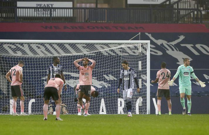 Leikmenn Sheffield United geta einfaldlega ekki skorað mörk.