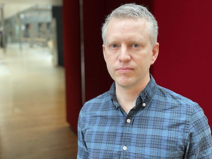 Páll Melsteð prófessor í tölvunarfræði hjá Íslenskri erfðagreiningu.