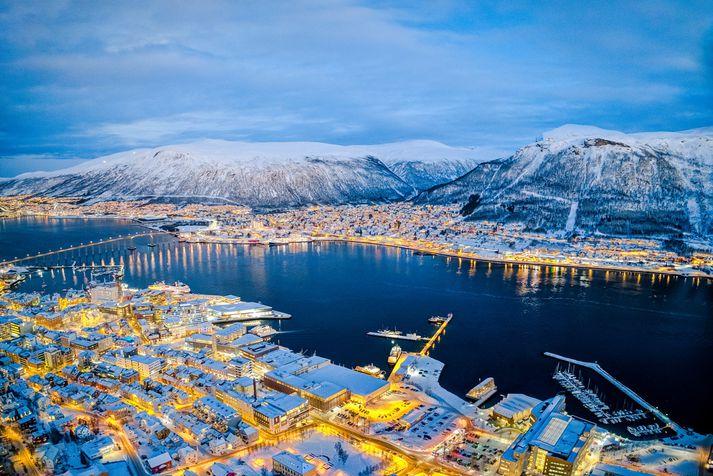 Frá Tromsø í Norður-Noregi.