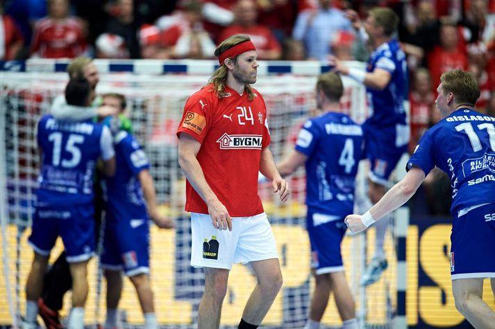 Mikkel Hansen hefur verið einn besti handboltamaður heims um langt skeið en mátti sætta sig við tap gegn Íslandi á EM fyrir ári síðan.