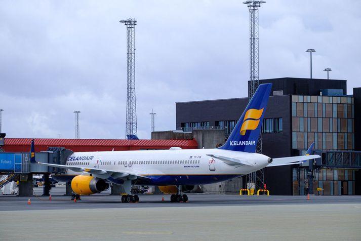 Gengi hlutabréfa í Icelandair hefur hrapað í morgun.
