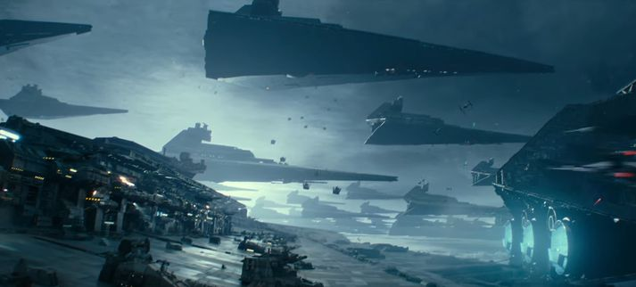 Það er útlit fyrir stærðarinnar geimorrustu í Rise of Skywalker.
