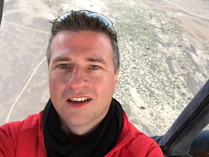 Jóhannes Stefánsson er staddur hér á landi um þessar mundir.