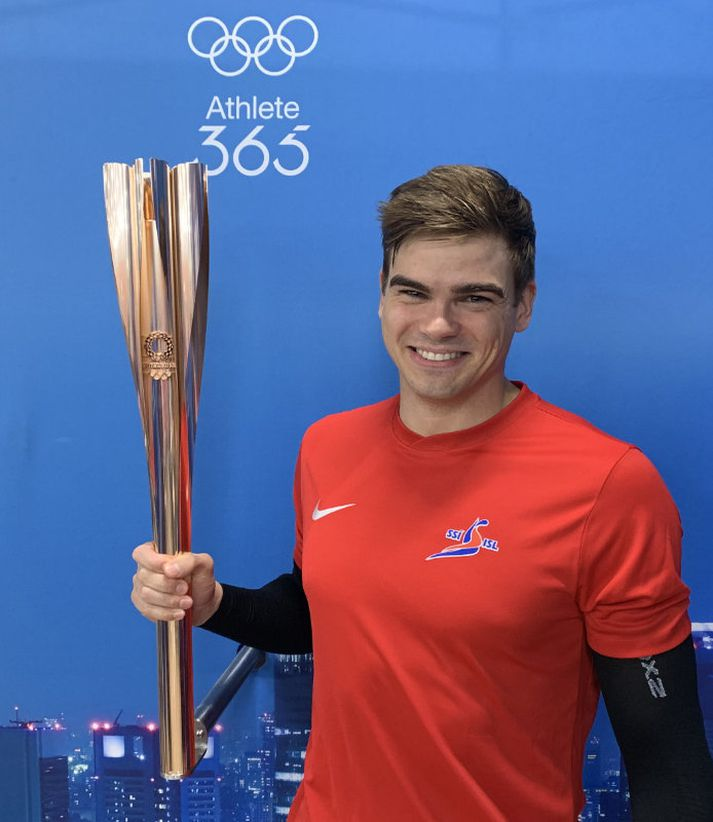 Anton Sveinn McKee er kominn inn á ÓL 2020.