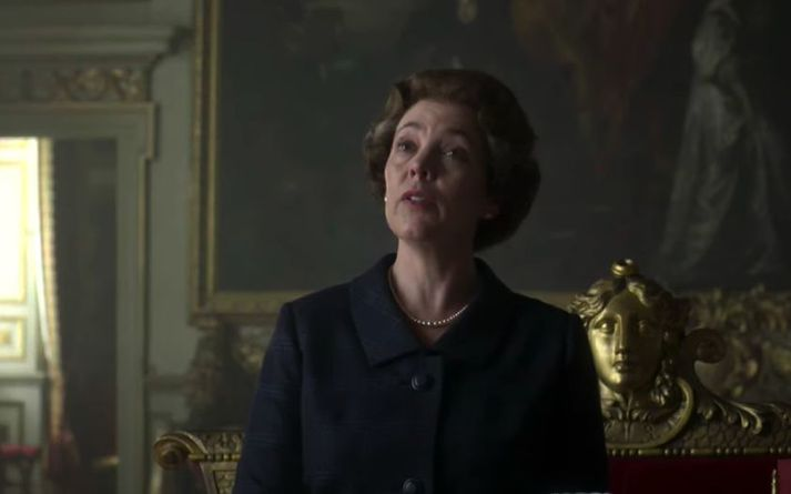 Olivia Colman hefur farið á kostum sem Elísabet Bretlandsdrottning.