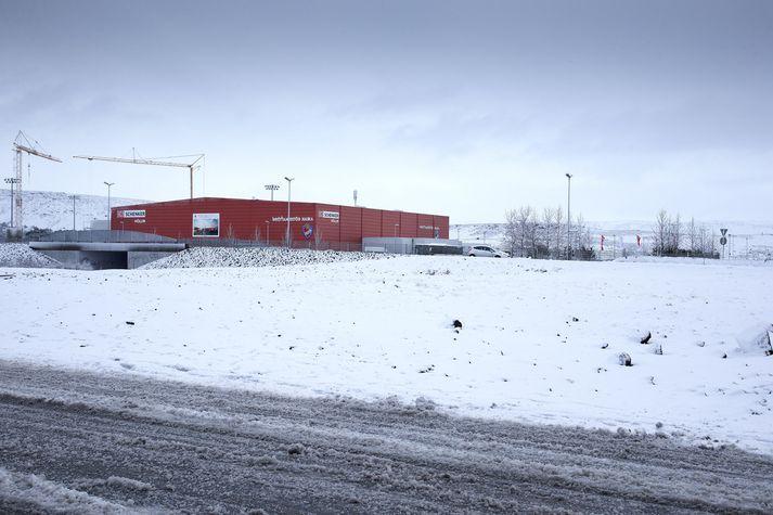 Íbúabyggð mun rísa við Haukasvæðið á Ásvöllum.