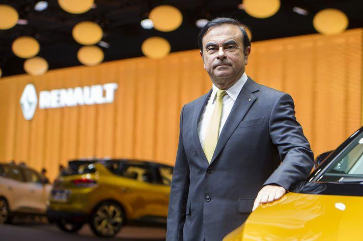 Carlos Ghosn sneri við rekstri Nissan og Renault á sínum tíma, en var ákærður fyrir fjármálamisferli í tengslum við rekstur Nissan.