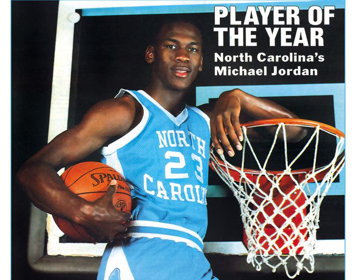 Heppinn safnari á nú treyjuna sem Michael Jordan klæddist á öðru tímabili sínu með North Carolina háskólanum.
