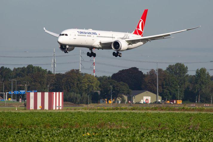 Turkish Airlines er á meðal þeirra flugfélaga sem notast við Dreamliner-vélar Boeing.