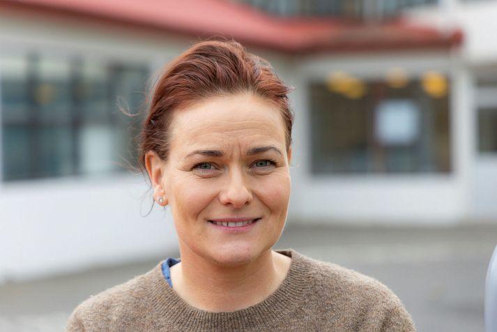 Anna Greta Ólafsdóttir skólastjóri í Varmárskóla í Mosfellsbæ.