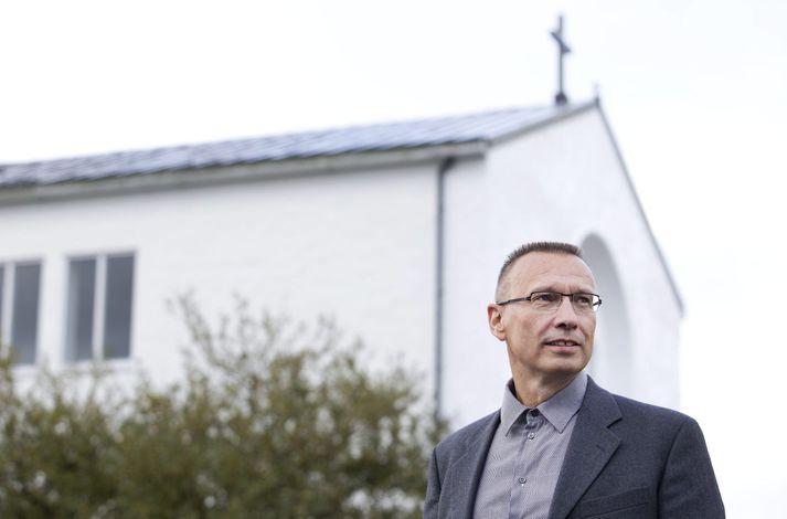 Bjarni Jónsson, fyrrverandi framkvæmdastjóri Siðmenntar.
