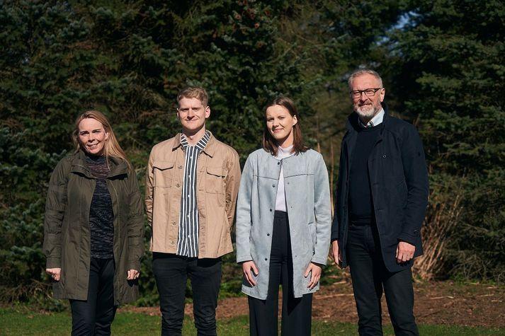 Sigríður Ólafsdóttir, Ingvar Þóroddsson, Draumey Ósk Ómarsdóttir og Eiríkur Björn Björgvinsson.