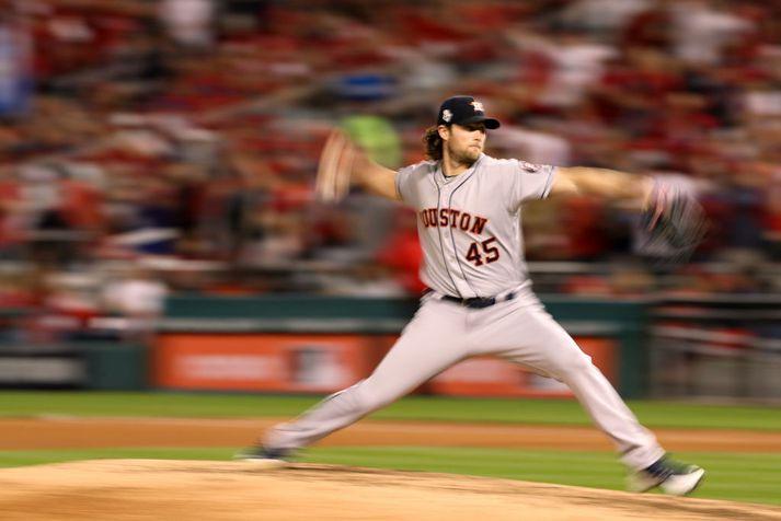 Cole í leik með Astros.