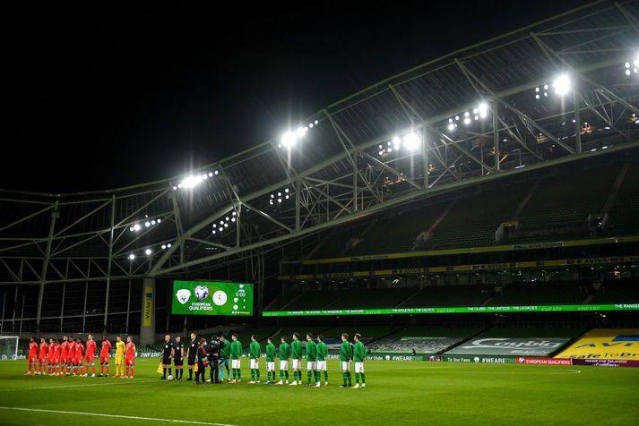 Ekki verður spilað á Aviva leikvanginum í Dublin á EM.