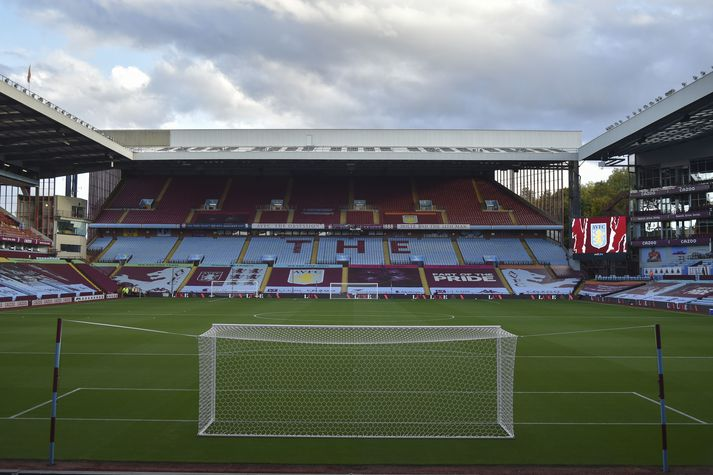 Aston Villa vs Stoke City epa08713192 General view of the Villa Park ahead of the English Carabao Cup 4th round soccer match between Aston Villa and Stoke City in Birmingham, Britain, 01 October 2020. EPA-EFE/Rui Vieira / POOL EDITORIAL USE ONLY. No use with unauthorized audio, video, data, fixture lists, club/league logos or 'live' services. Online in-match use limited to 120 images, no video emulation. No use in betting, games or single club/league/player publications.