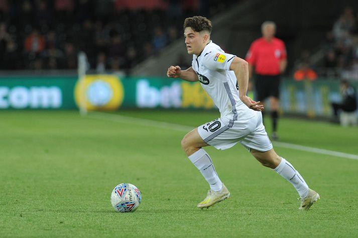 Daniel James spilaði vel fyrir Swansea í vetur.
