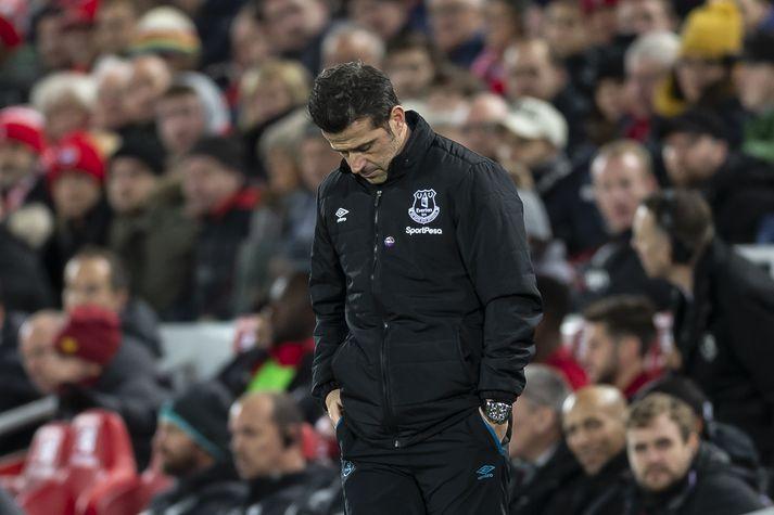 Silva er farinn frá Everton.