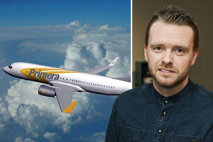 Birgir Örn Guðjónsson er ekki sáttur við Primera Air.