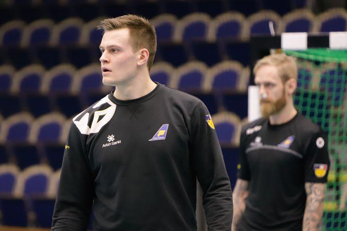 Sveinn Jóhannsson skoraði tvö mörk fyrirSønderjyskE.