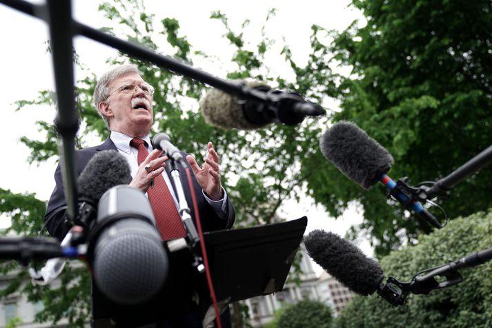 John Bolton, þjóðaröryggisráðgjafi Donalds Trump, Bandaríkjaforseta.