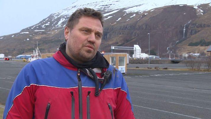 Davíð Kristinsson björgunarsveitarmaður.