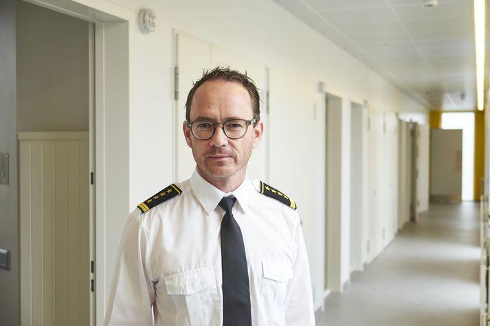 Páll Winkel forstjóri Fangelsismálastofnunnar.