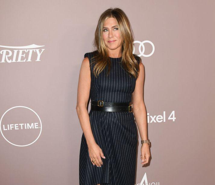 Jennifer Aniston er vinsæl á Instagram.