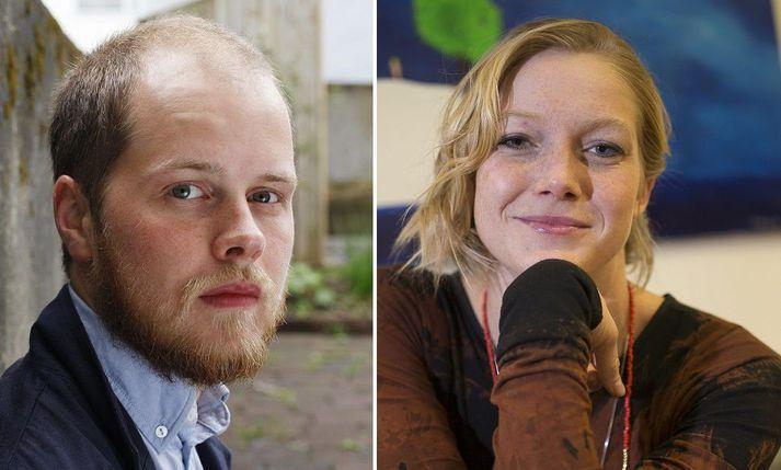 Snorri Helgason og Saga Garðarsdóttir hafa verið par í nokkur ár.