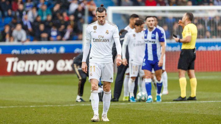 Árið hefur verið erfitt hjá Bale á Spáni.