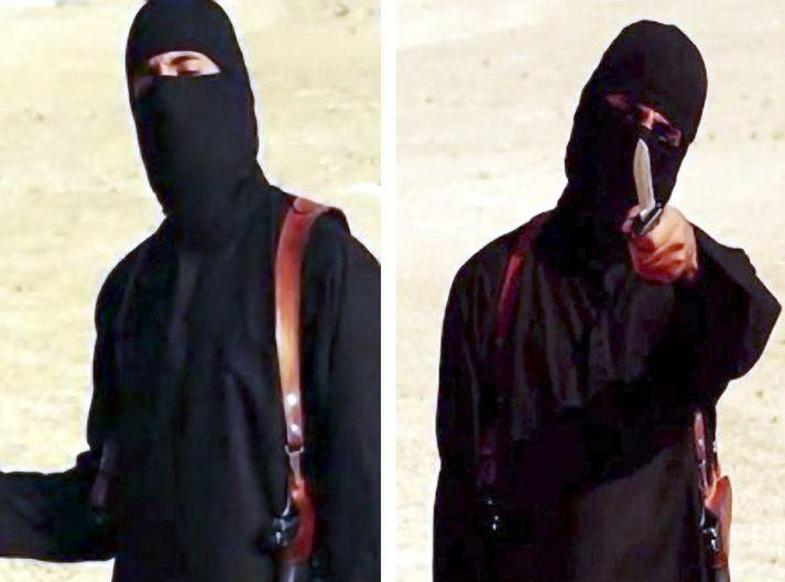 Mohammed Emwazi, eða Jihadi John, var leiðtogi Bítlanna svokölluðu. Hann var felldur í loftárás.