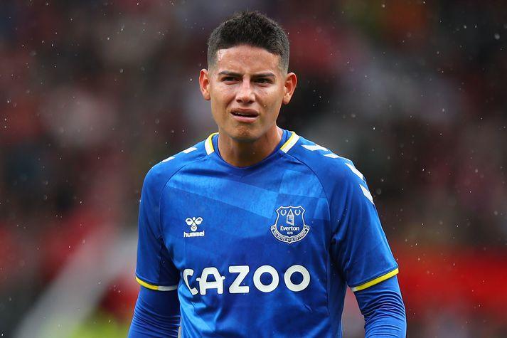 Rodríguez er farinn úr rigningunni í Liverpool.