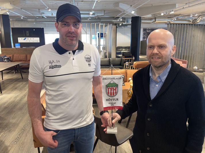 Viðar Örn Hafsteinsson og Einar Árni Jóhannsson munu þjálfa Hött í sameiningu.
