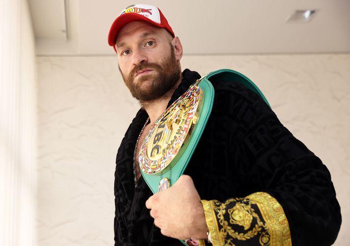 Tyson Fury mætir Deontay Wilder í þriðja sinn á laugardaginn.