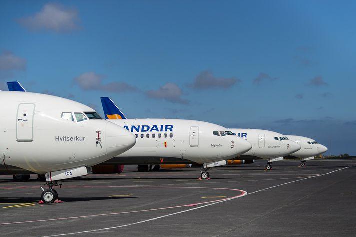 Í tilkynningu frá Icelandair segir að áhrif á flugáætlun félagsins verði óveruleg.