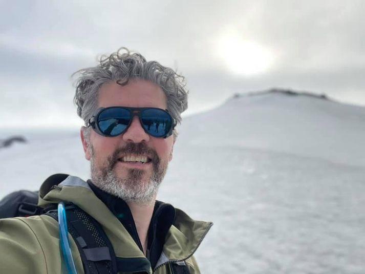 Dagur B. Eggertsson fór á Hvannadalshnjúk um helgina ásamt góðum hópi.