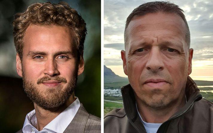 Gunnar Dofri Ólafsson og Sverrir Jónsson.