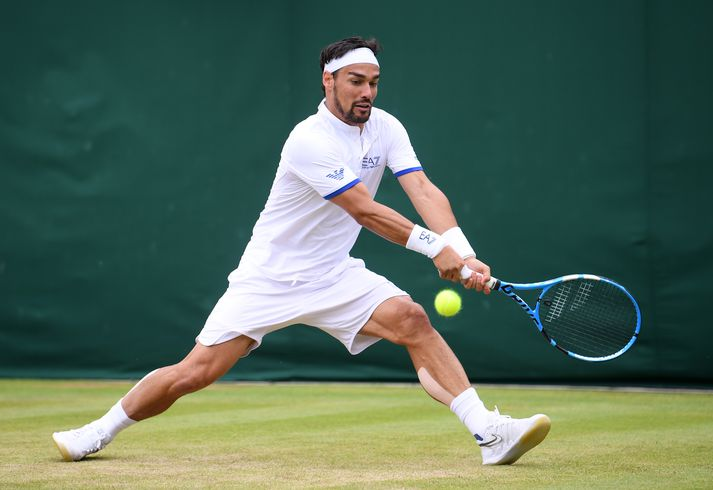 Fognini gæti fengið refsingu vegna ummæla sinna á Wimbledon.