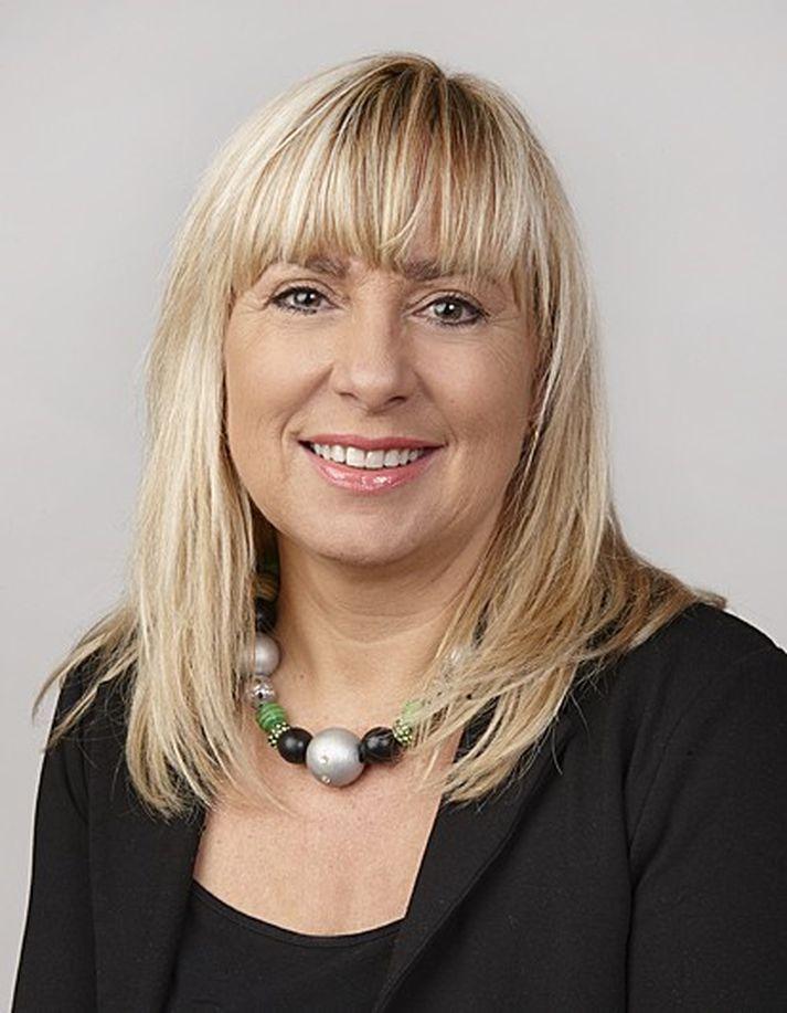 Margrét Pétursdóttir.