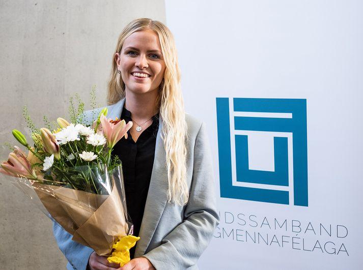 Esther Hallsdóttir er mannfræðingur og verkefnastjóri hjá UNICEF á Íslandi.