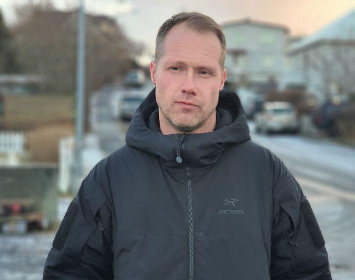 Jóhann Björn Skúlason, yfirmaður smitrakningateymis almannavarna.