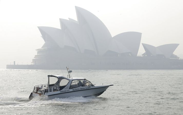 Óperuhúsið í Sydney.