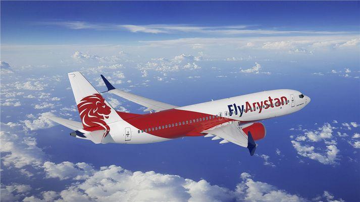 Boeing 737 MAX-þotur Air Astana verða notaðar hjá dótturfélaginu Fly Arystan.