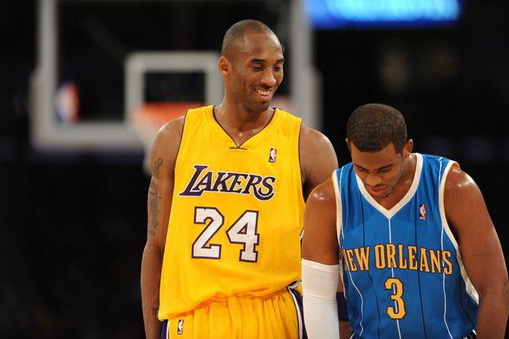 Chris Paul og Kobe Bryant í leik fyrir meira en áratug síðan.