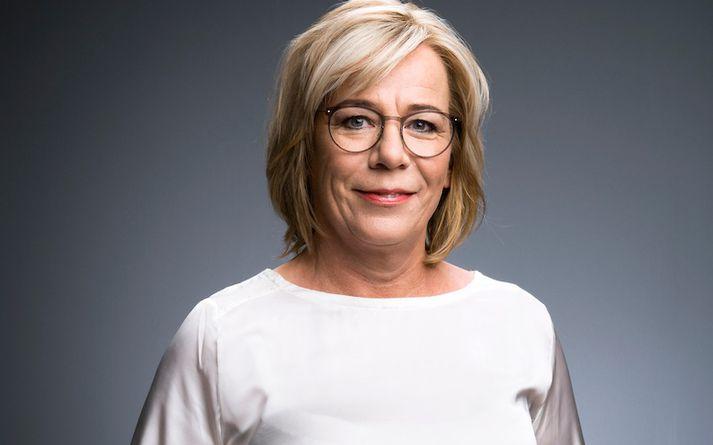 Vigdís Hauksdóttir er fædd 20. mars 1965 á Selfossi og er mikil sveitastelpa.