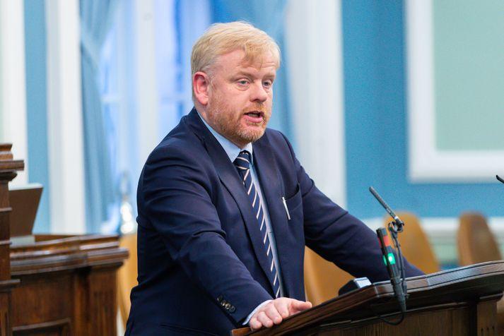Haraldur Benediktsson, þingmaður Sjálfstæðisflokksins