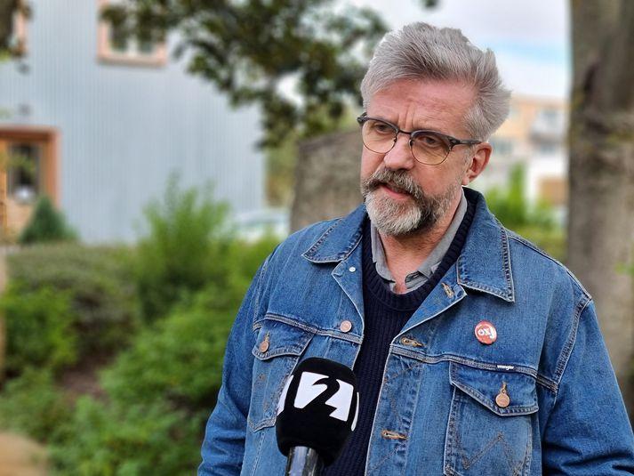 Gunnar Smári Egilsson, formaður framkvæmdastjórnar Sósíalistaflokks Íslands.