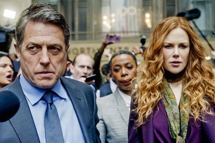Nicole Kidman og Hugh Grant í The Undoing.