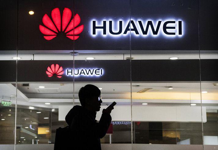 Deila Kanadamanna og Kínverja snýst að mestu um Huawei.