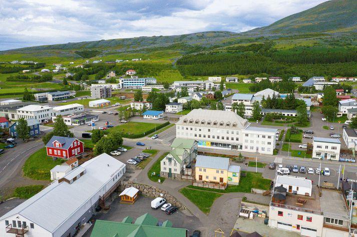 Upptök skjálftans voru um 20 kílómetra norðvestur af Húsavík.