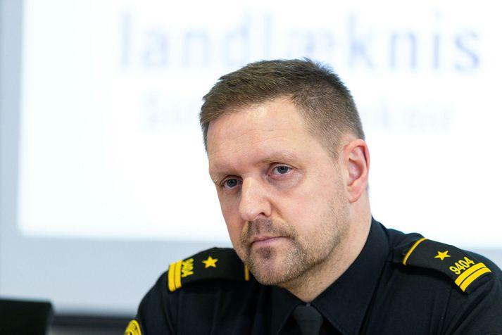 Rögnvaldur Ólafsson, starfandi deildarstjóri hjá almannavarnardeild ríkislögreglustjóra.